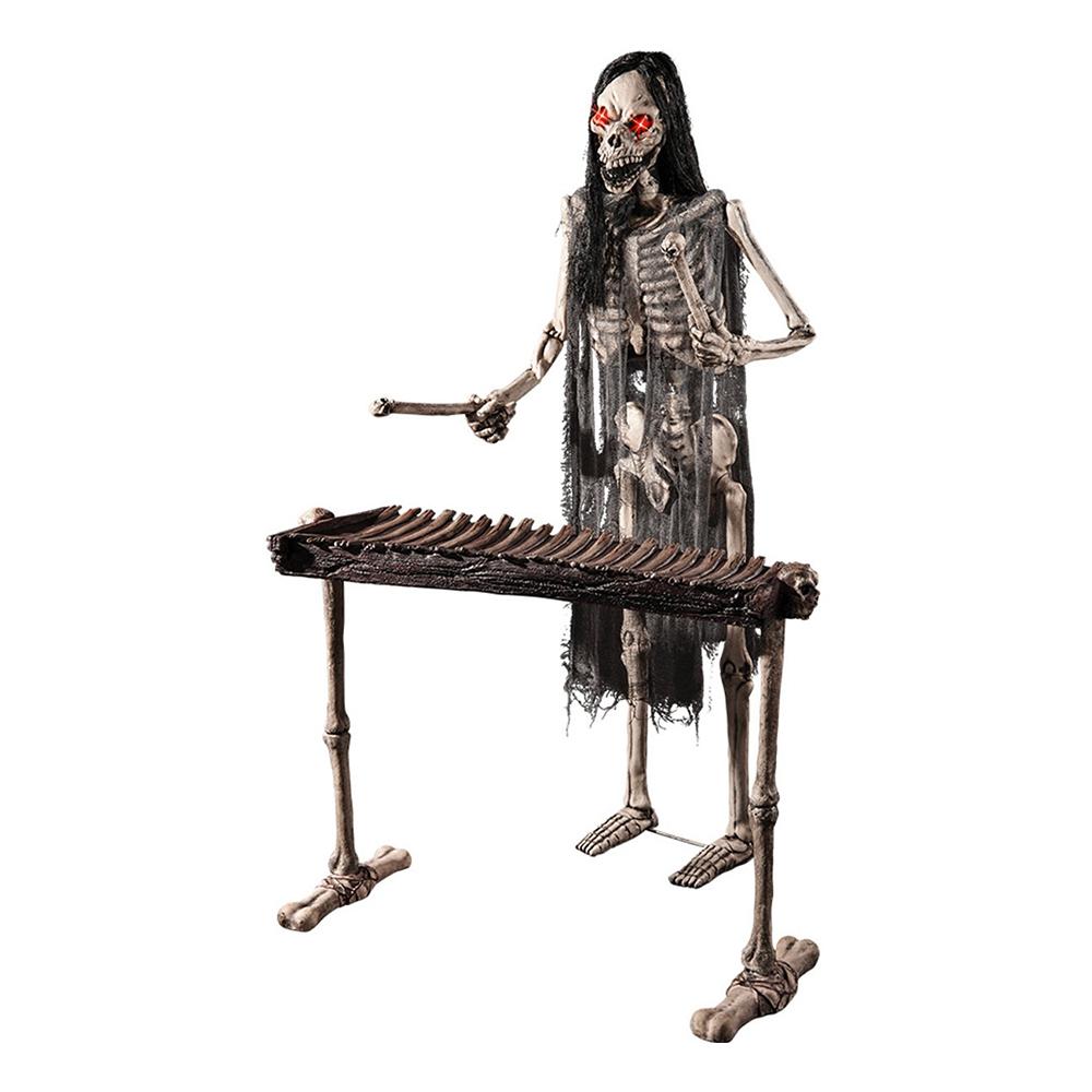 Spelande Skelett Prop - 175 cm