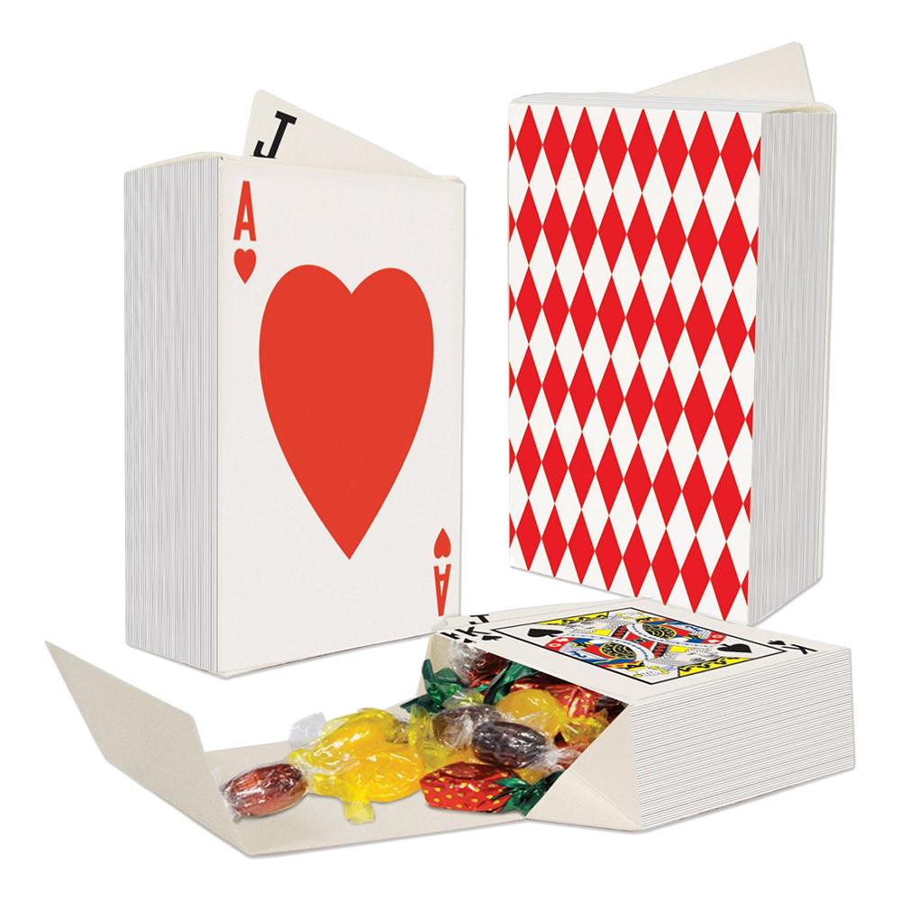 Spelkort Presentaskar - 3-pack