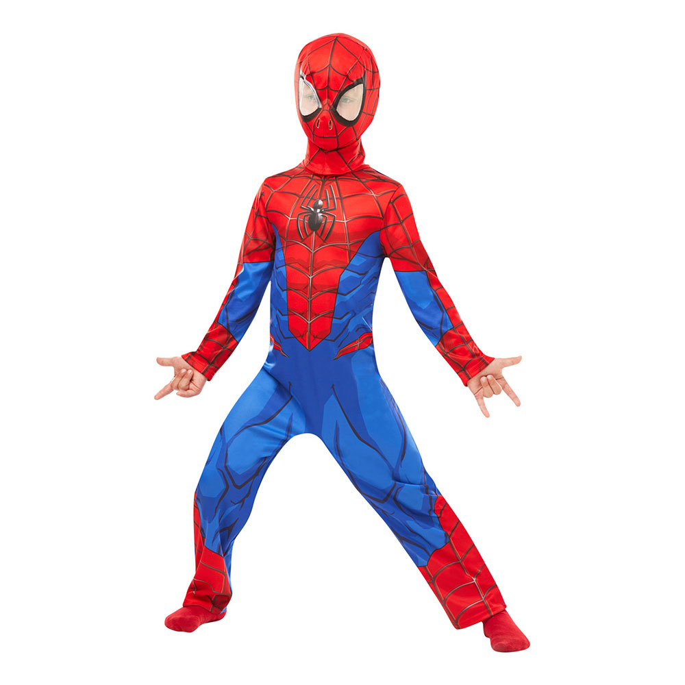 Spider-Man Barn Maskeraddräkt - Medium