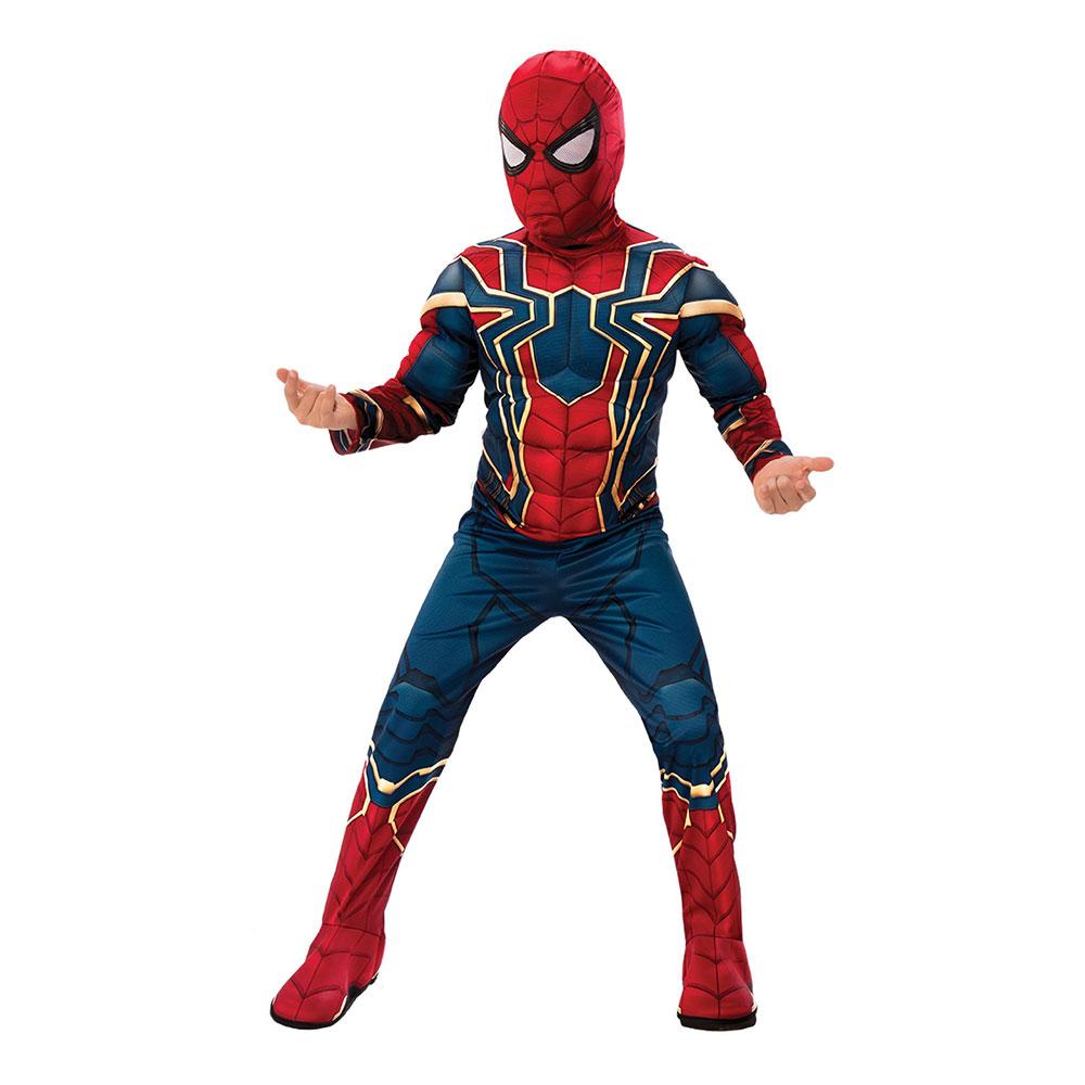 Spiderman dräkt - Spindelmannen-kläder för barn   vuxna ... 114079fdbb362