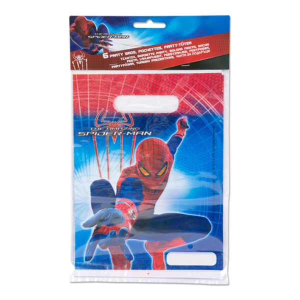 Spiderman Kalaspåsar - 6-pack