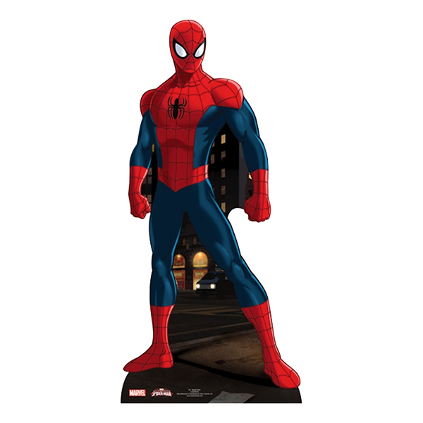 Spiderman Mini Kartongfigur