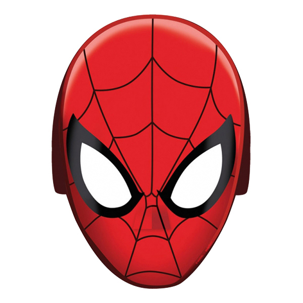 Spiderman Pappmasker - 8-pack