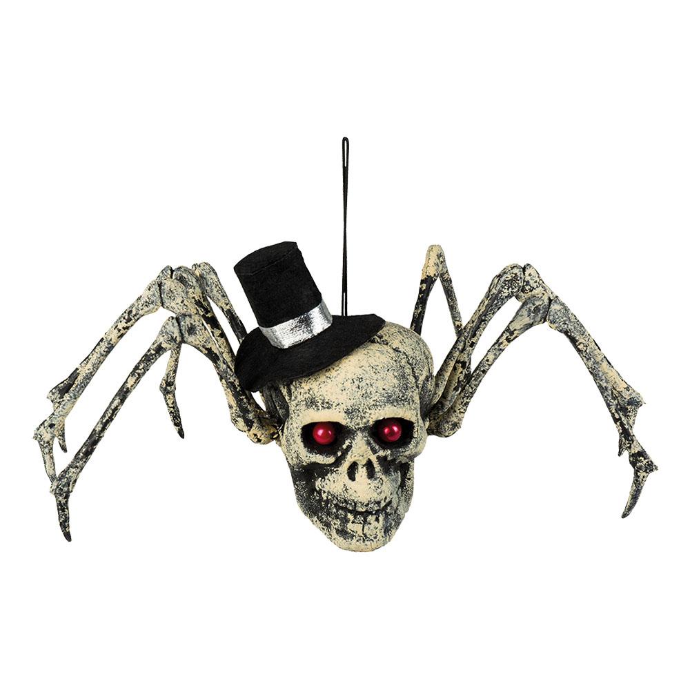 Spindel Döskalle med Hatt Prop