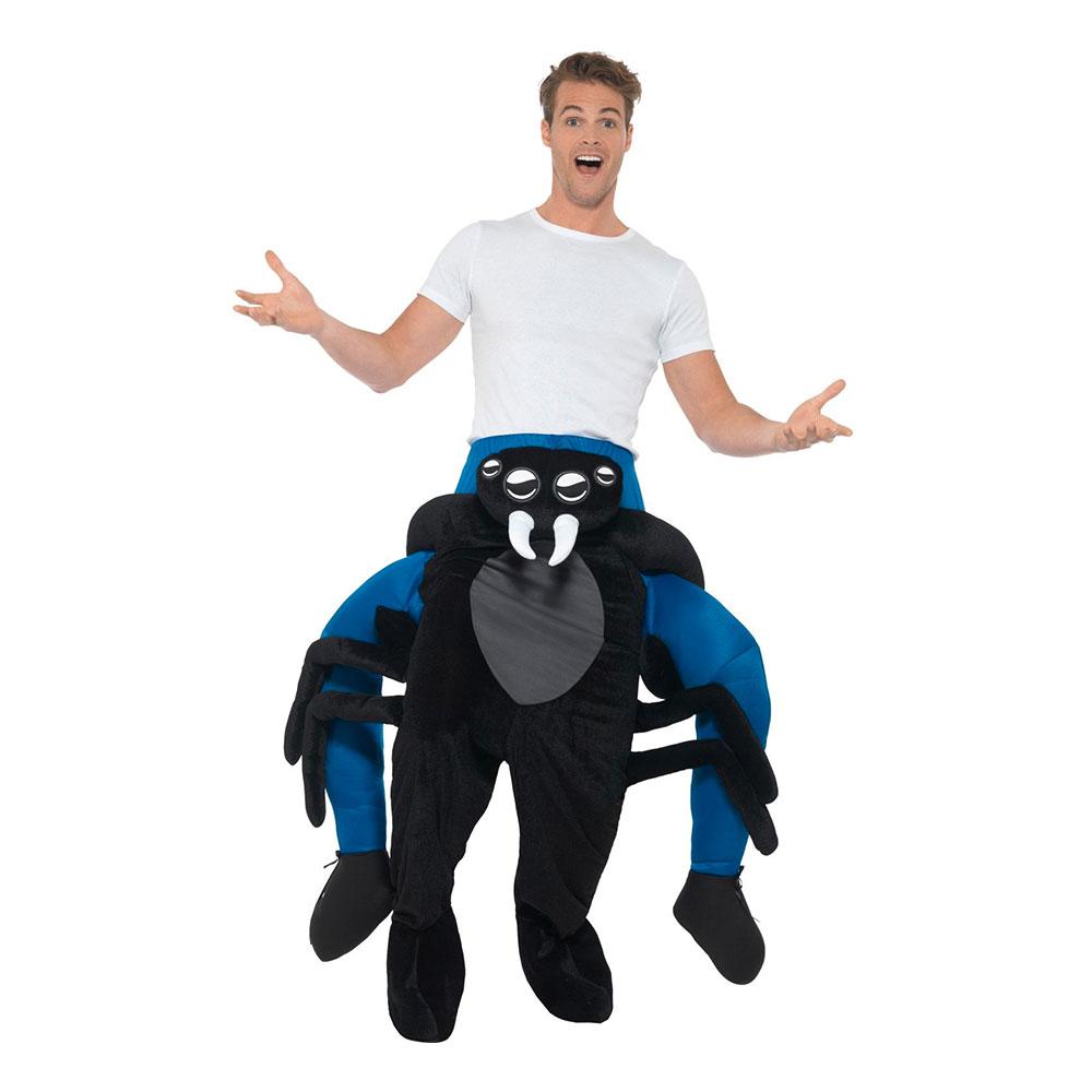 Spindel Piggyback Maskeraddräkt - One size