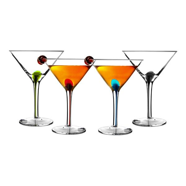 Splash Martiniglas - 4-pack