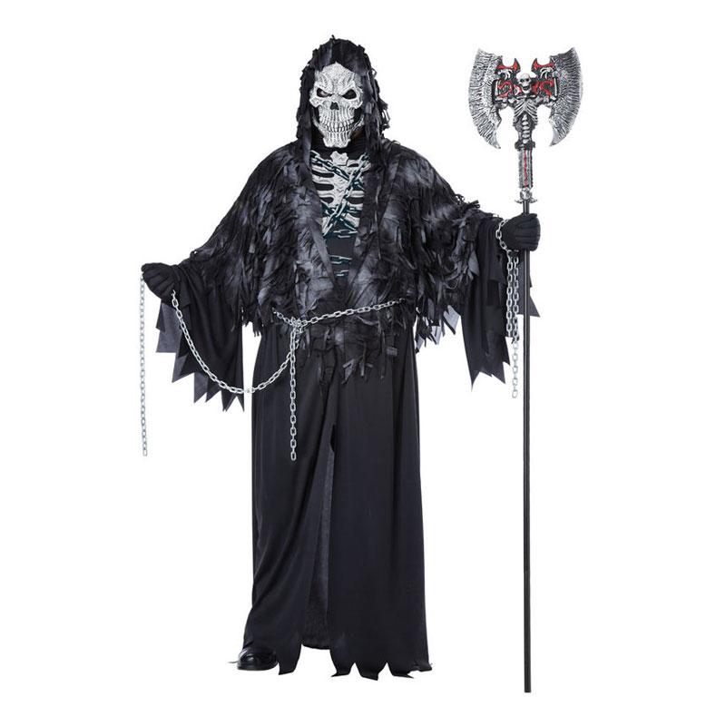 Döden med Kedjor Plus-size Maskeraddräkt - Plus size
