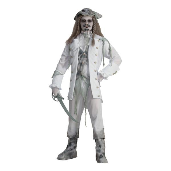 Spökkapten Maskeraddräkt - One size
