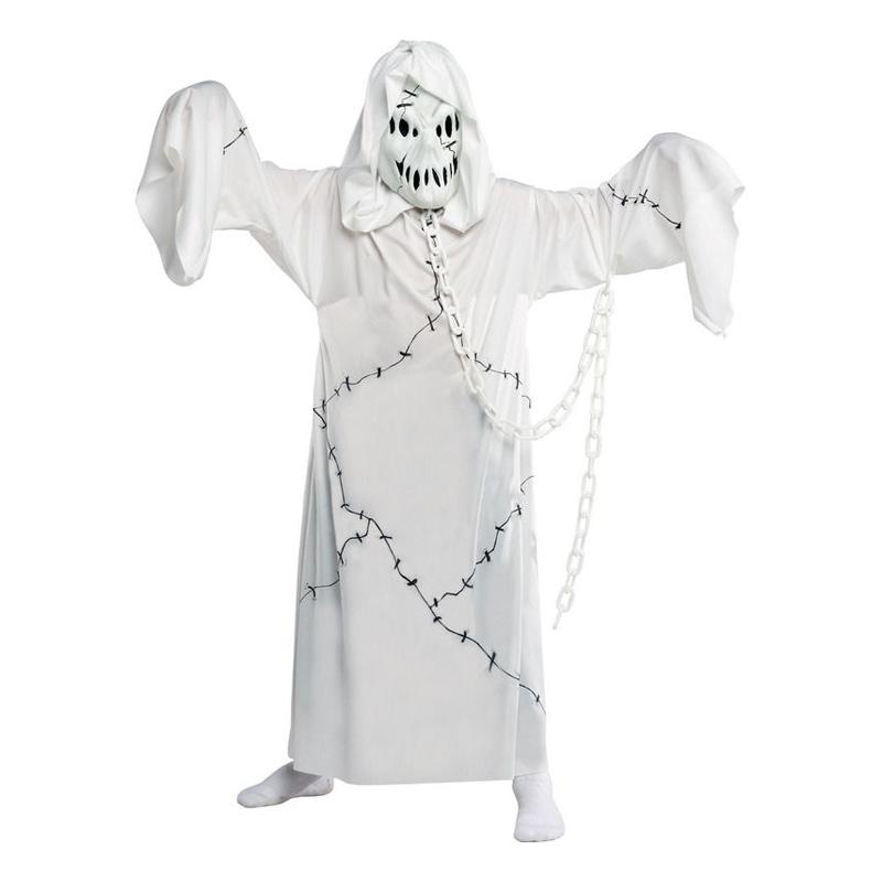 Spökpojke Barn Maskeraddräkt - Small