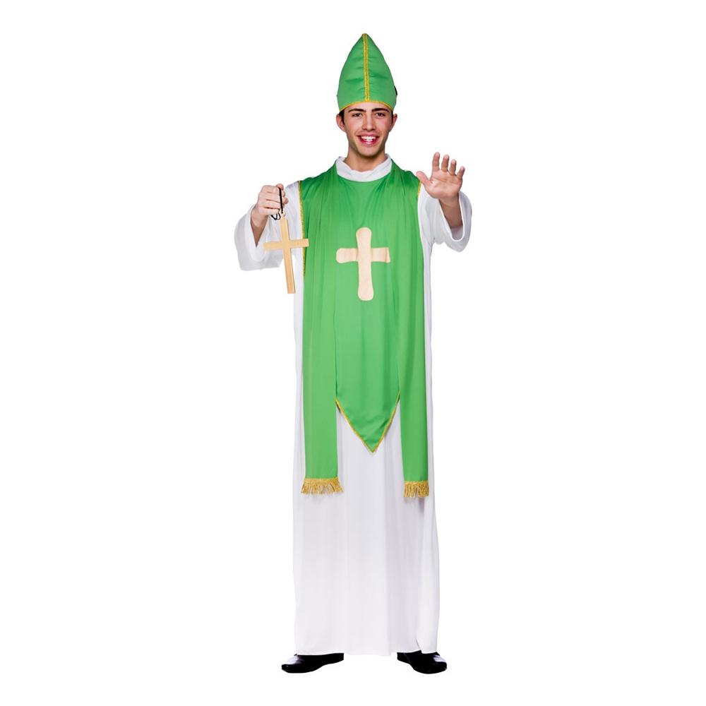 St Patrick Präst Maskeraddräkt - Standard