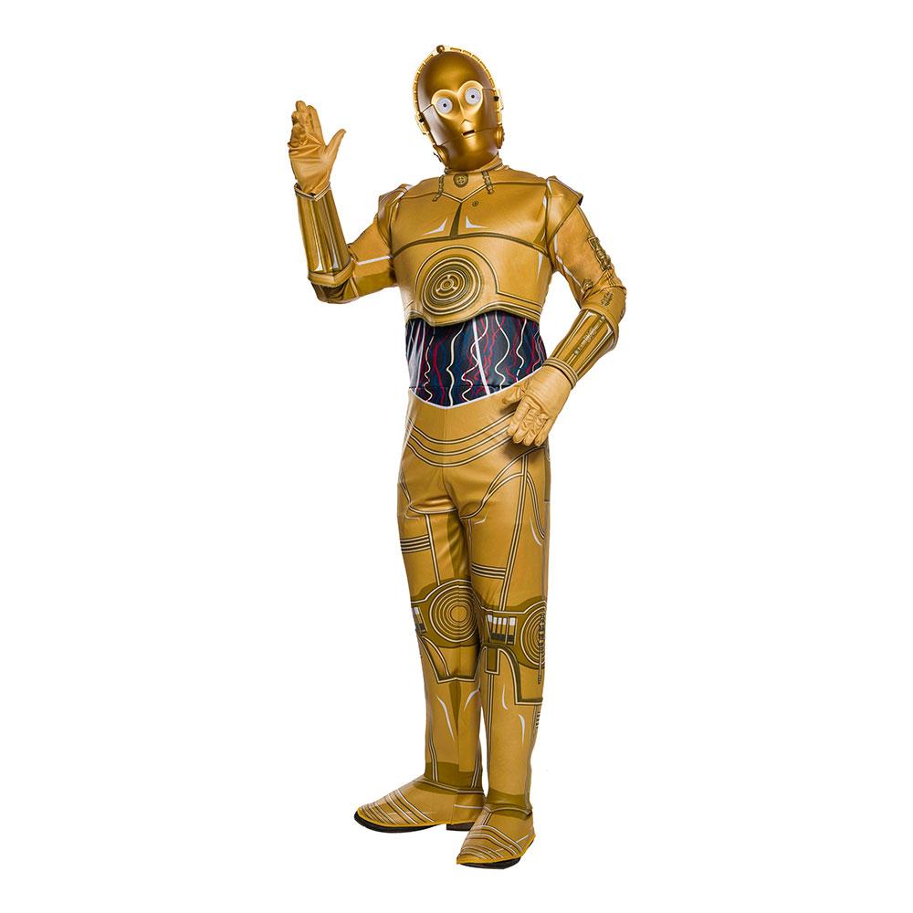 Star Wars C-3PO Maskeraddräkt - X-Large