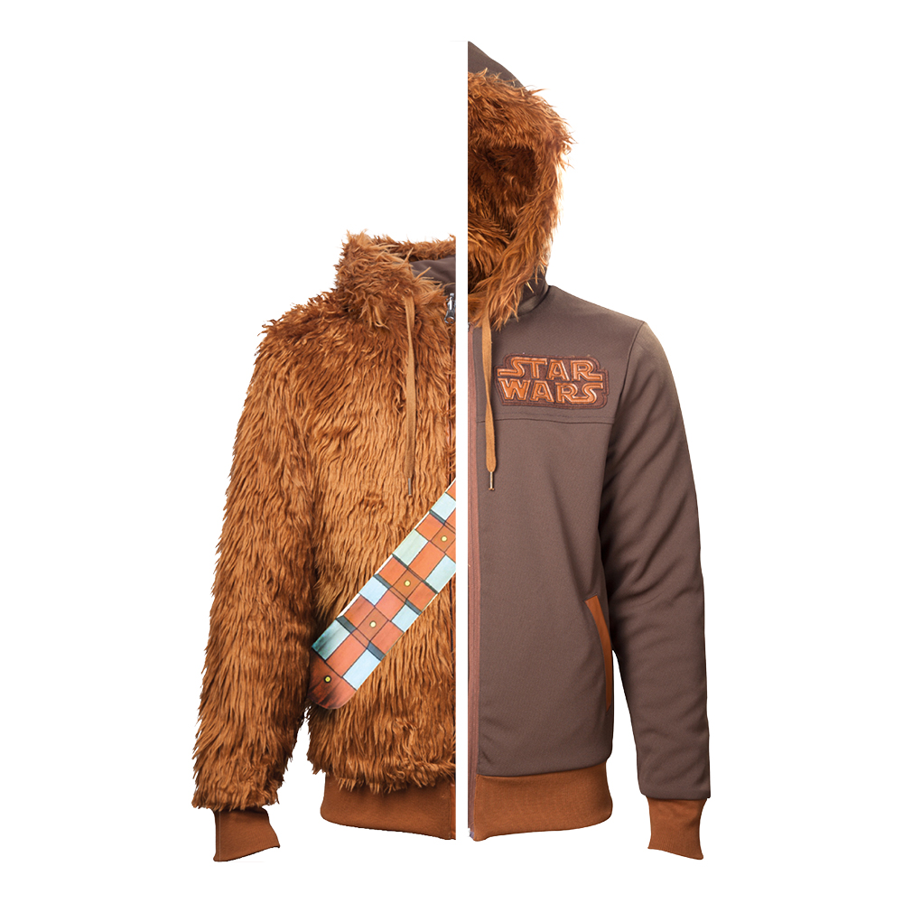 Star Wars Chewbacca Vändbar Hoodie - Medium
