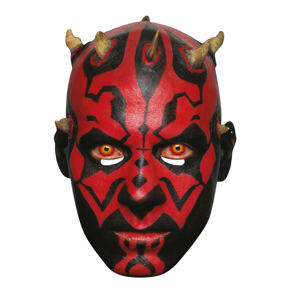 Star Wars Darth Maul Pappmask - One size