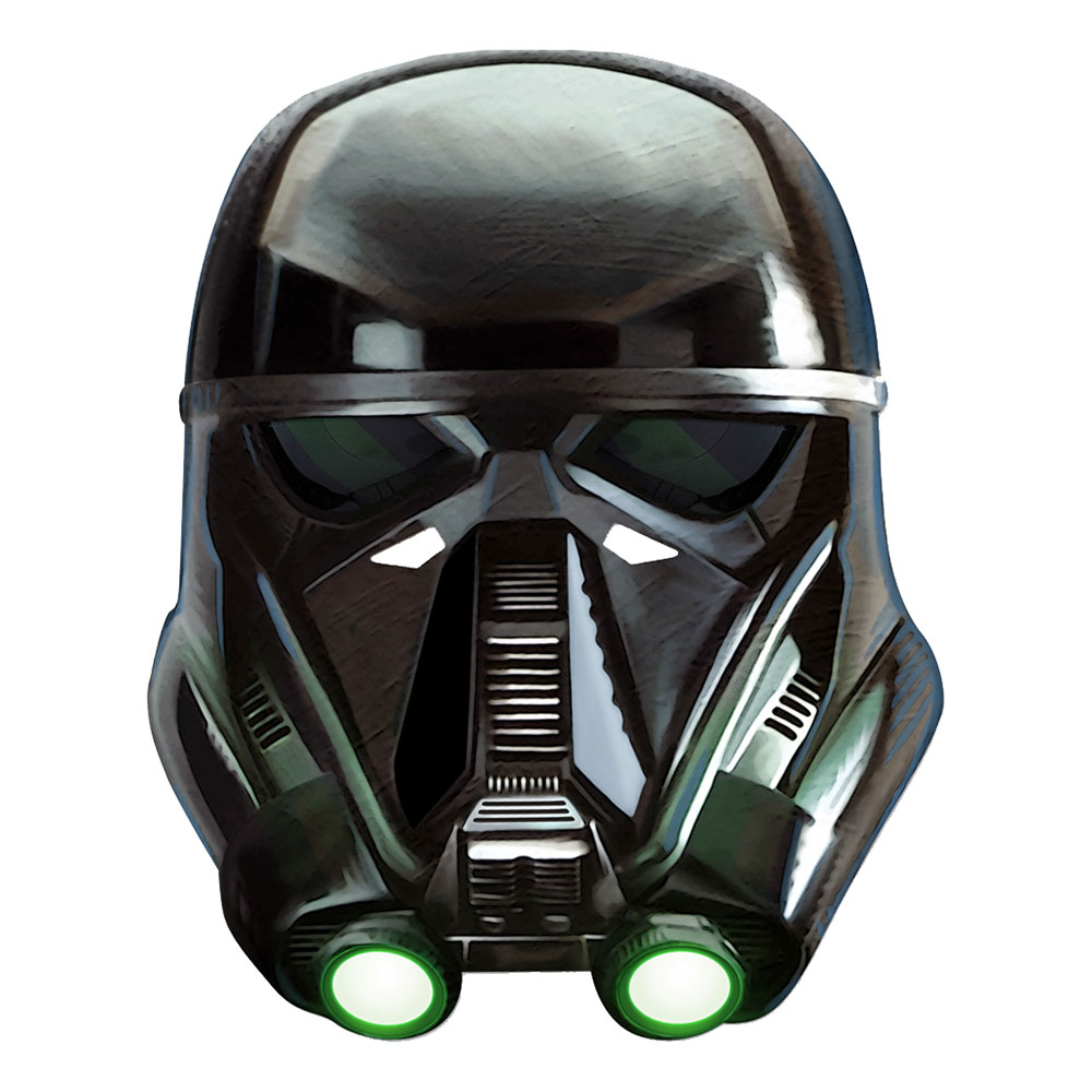 Star Wars Death Trooper Pappmask - One size