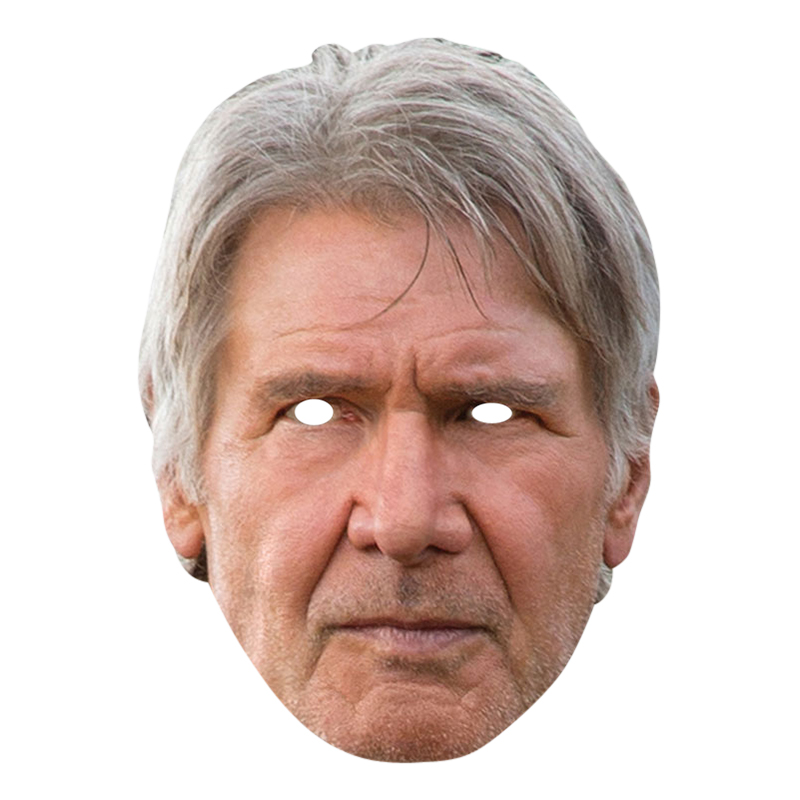 Star Wars Han Solo Pappmask - One size