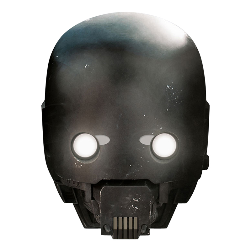 Star Wars K-2SO Pappmask - One size