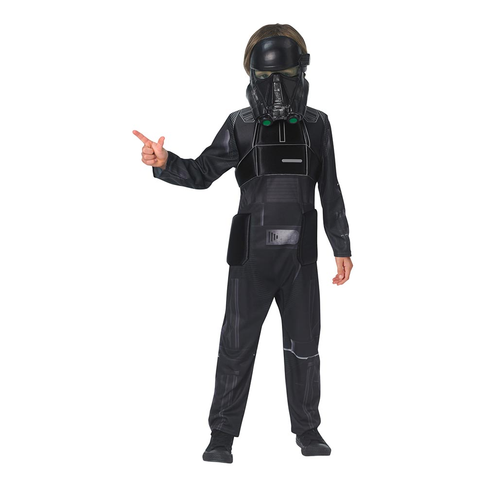 Star Wars Rouge One Death Trooper Deluxe Barn Maskeraddräkt - Large