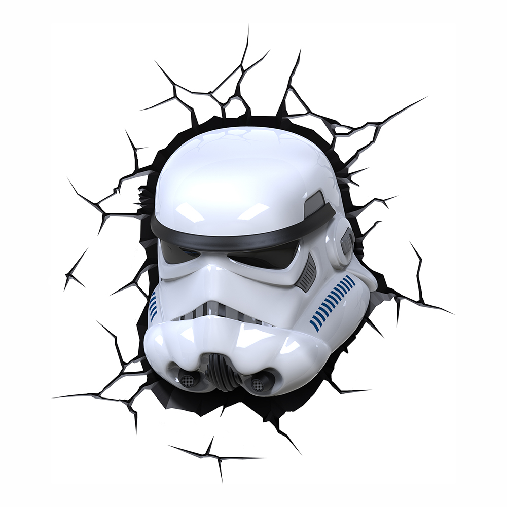 Star Wars Stormtrooper 3D Vägglampa