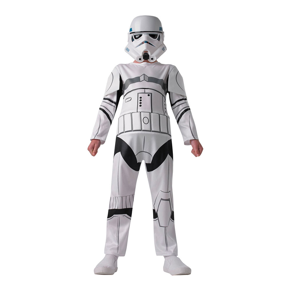 Star Wars Stormtrooper Barn Maskeraddräkt - One size
