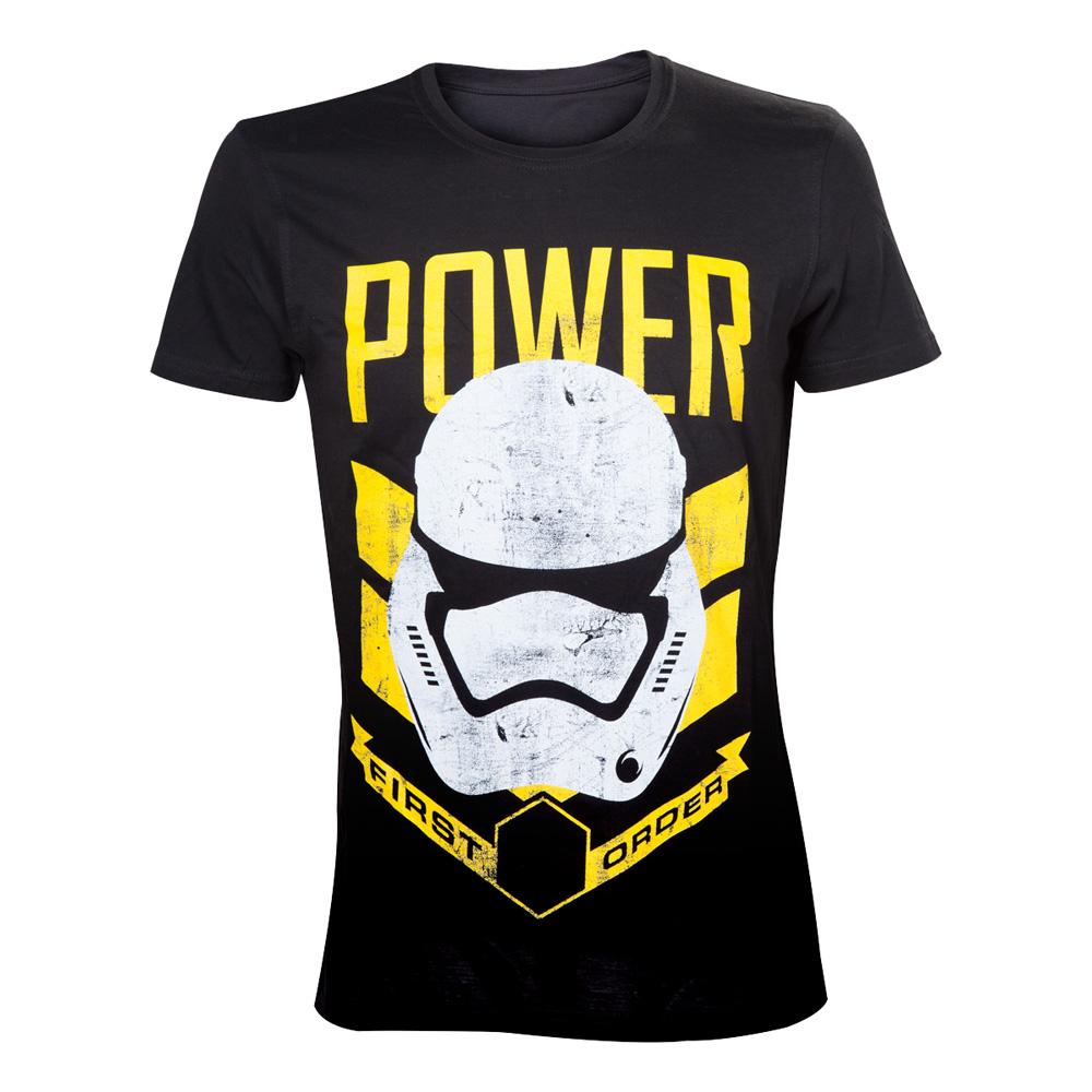 Star Wars Stormtrooper Power T-shirt - Medium