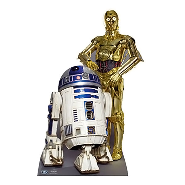 Star Wars The Droids R2D2 & C3PO Kartongfigur