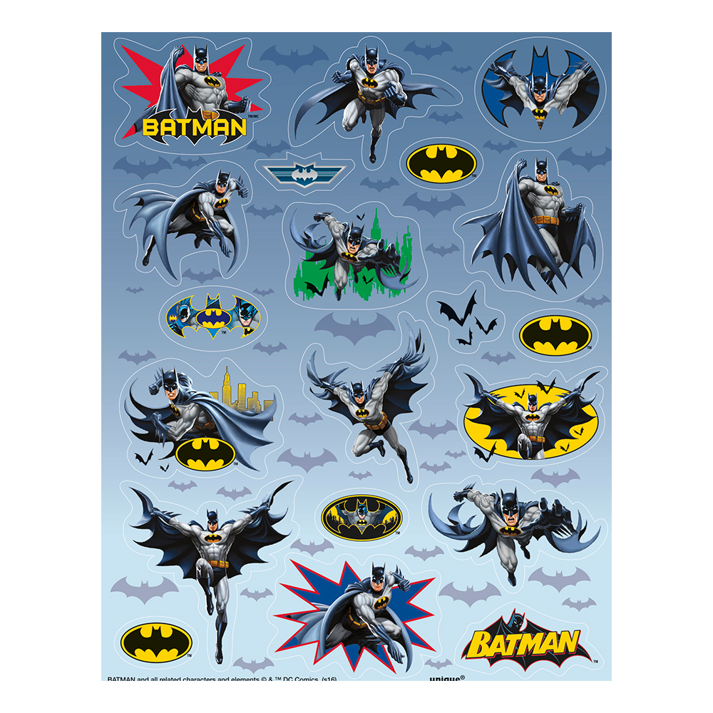 Stickers Batman - 80-pack