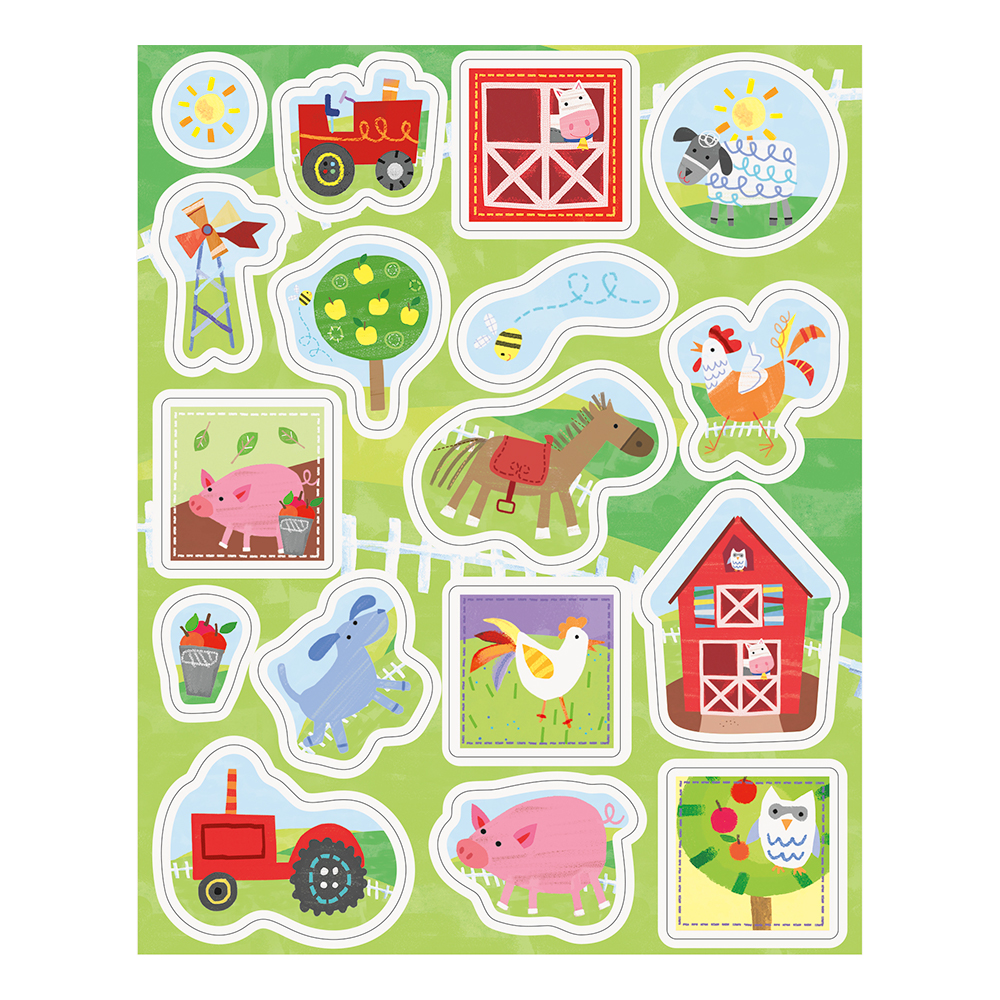 Stickers Bondgård - 68-pack