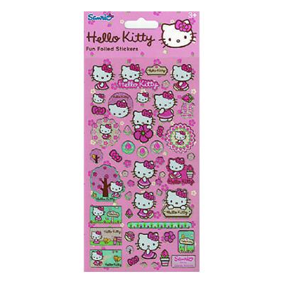 Stickers Hello Kitty Blommor