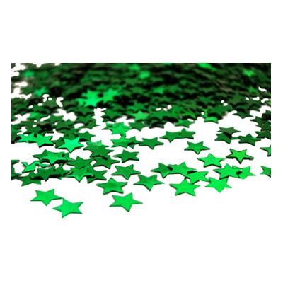 Stjärnkonfetti Grön