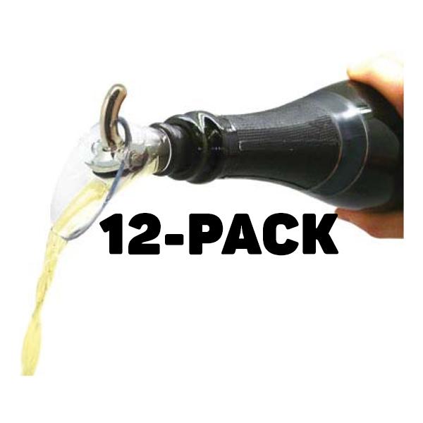 Stop & Pour Droppkork - 12-pack