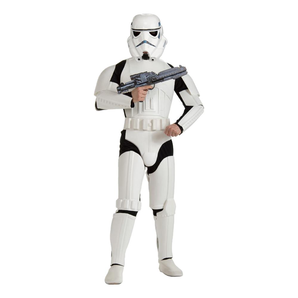 Stormtrooper Deluxe Maskeraddräkt - Standard
