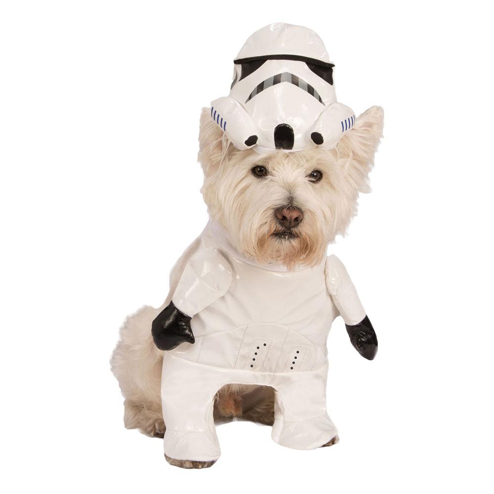 Stormtrooper Hund Maskeraddräkt - Small