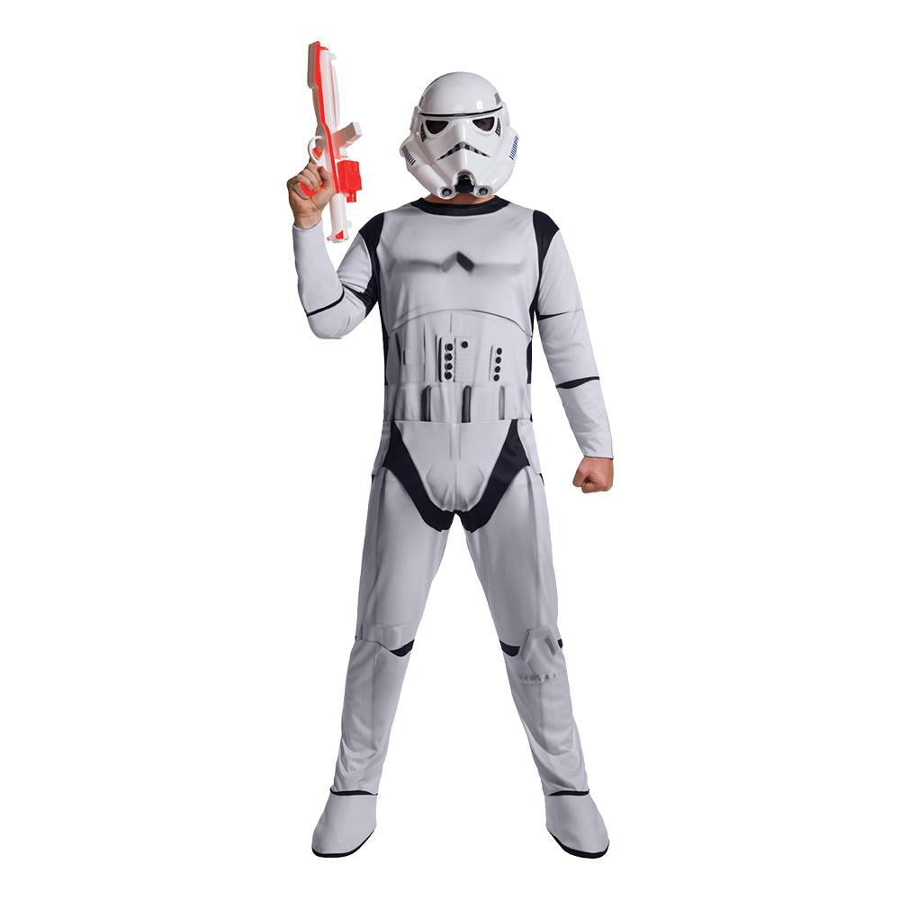 Stormtrooper Budget Maskeraddräkt - Standard