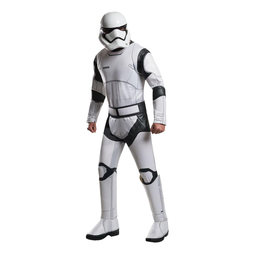Stormtrooper TFA Deluxe Maskeraddräkt - Standard