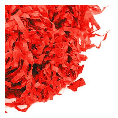 Strimlat Papper - Rött