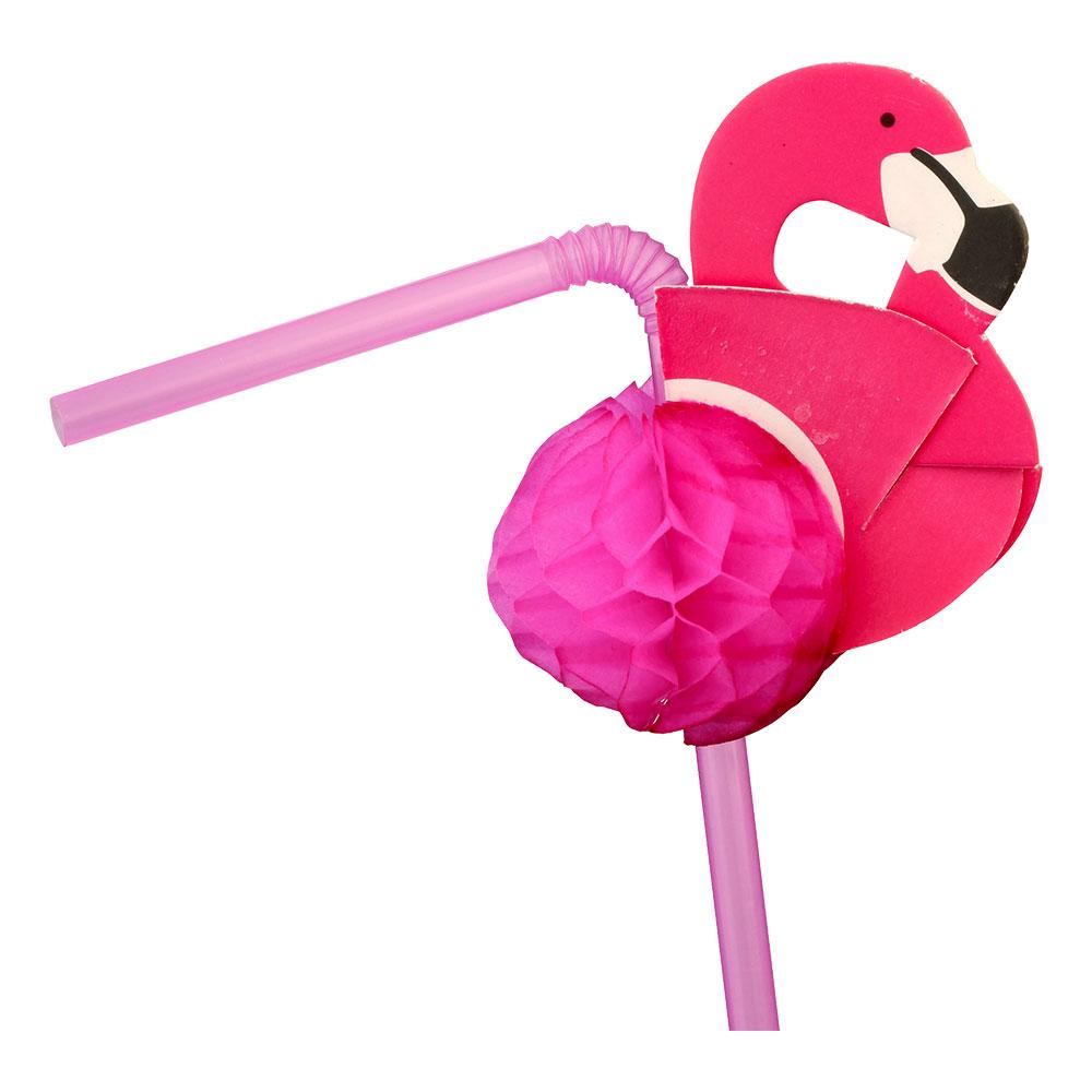 Sugrör Flamingo Honeycombs - 24-pack
