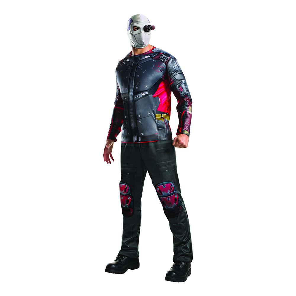 Suicide Squad Deadshot Deluxe Maskeraddräkt - Standard