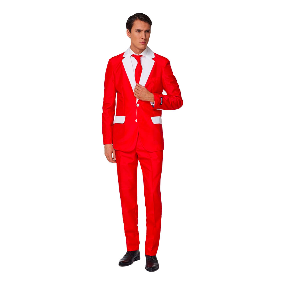 Suitmeister Santa Outfit Kostym - Small