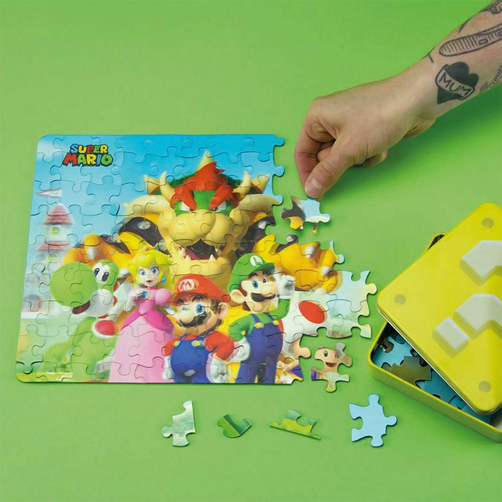 Super Mario 3D Pussel