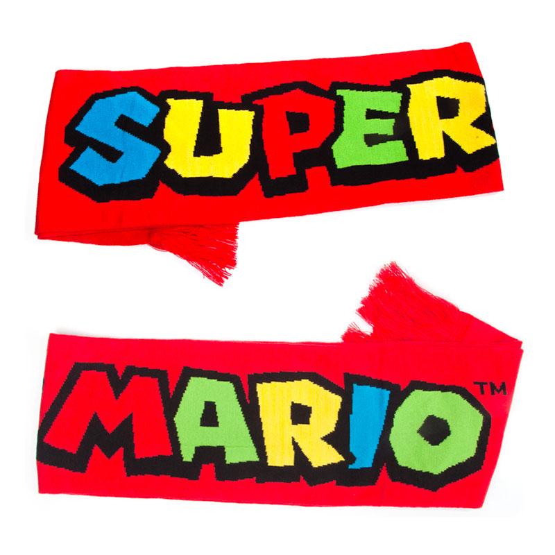 Super Mario Stickad Halsduk