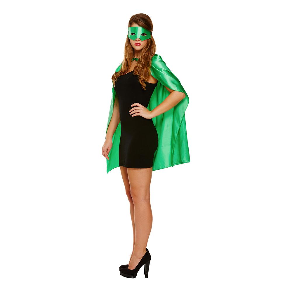 Superhjälte Tillbehörskit Grön - One size