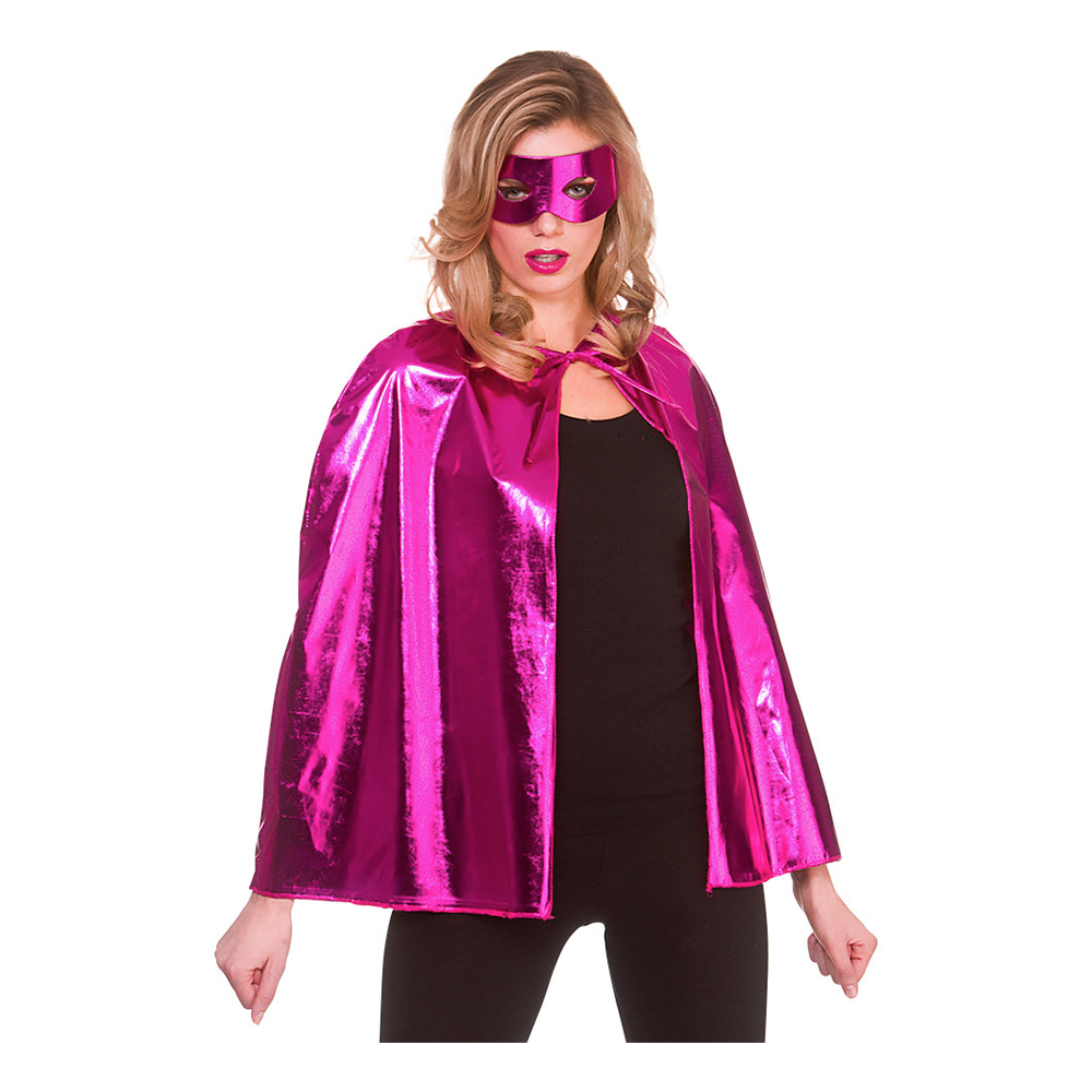 Superhjälte Tillbehörsset Rosa Metallic - One size