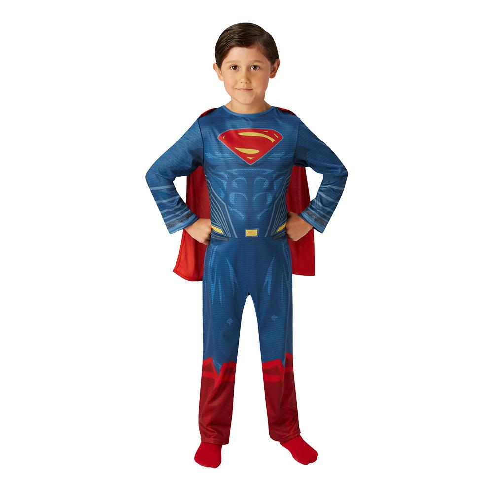 Superman Justice League Barn Maskeraddräkt - Medium