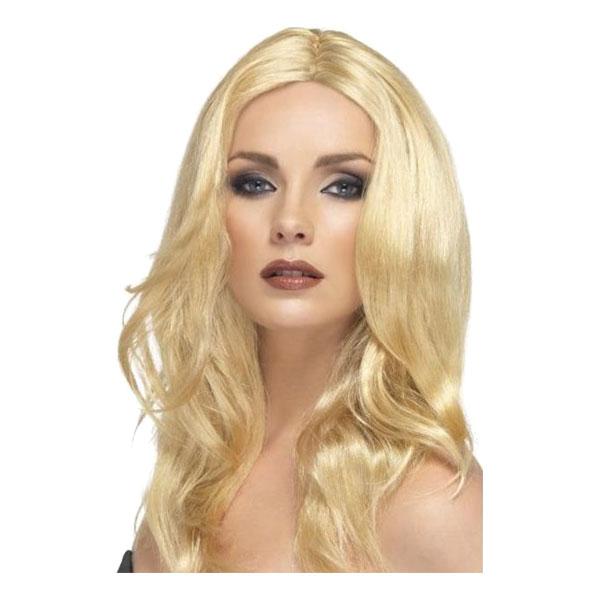 Superstjärna Blond Peruk - One size