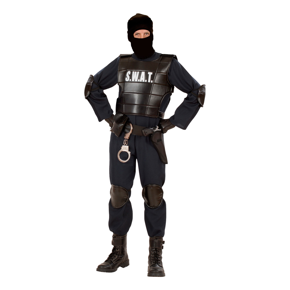 S.W.A.T. Officer Maskeraddräkt - Small