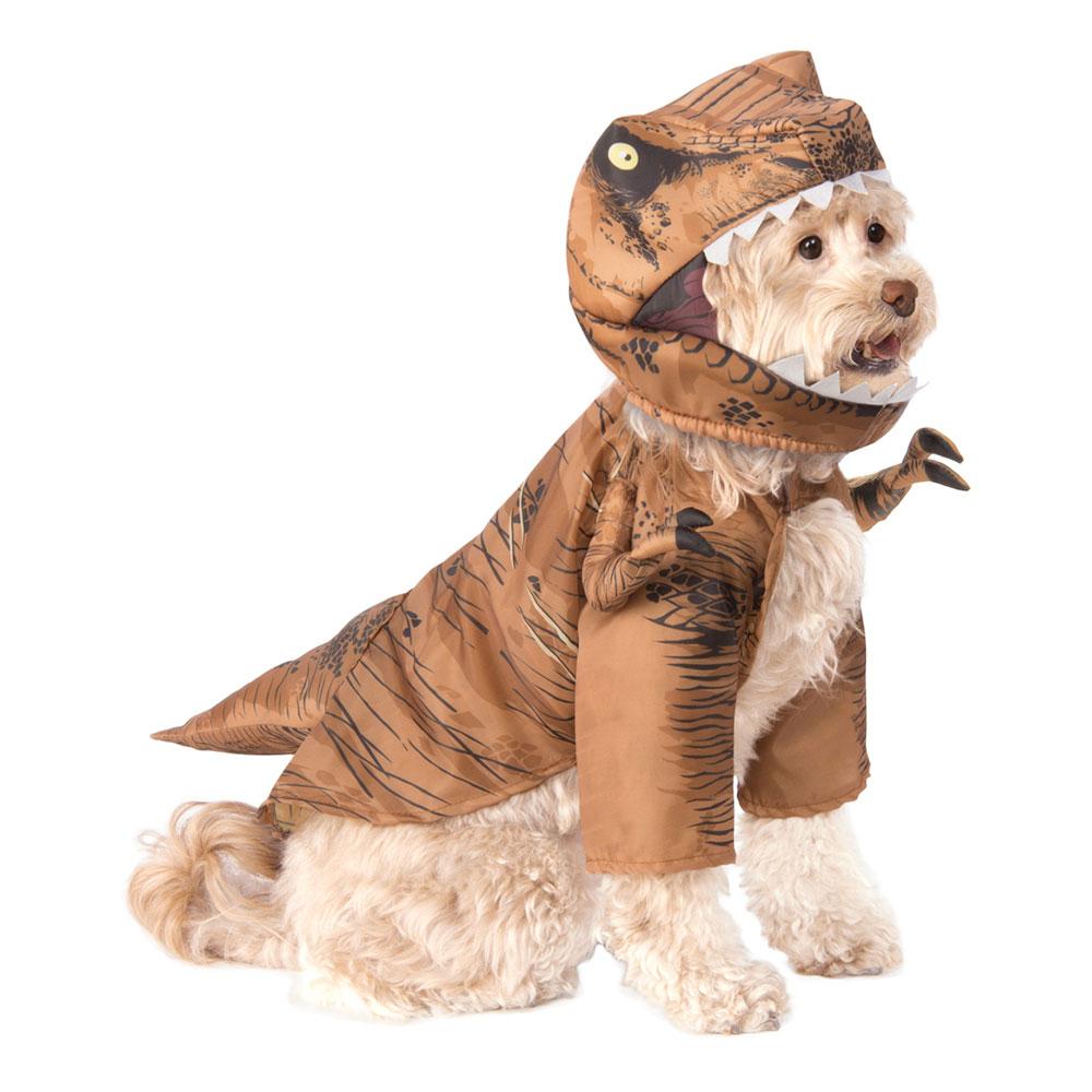 T-Rex Hund Maskeraddräkt - Small