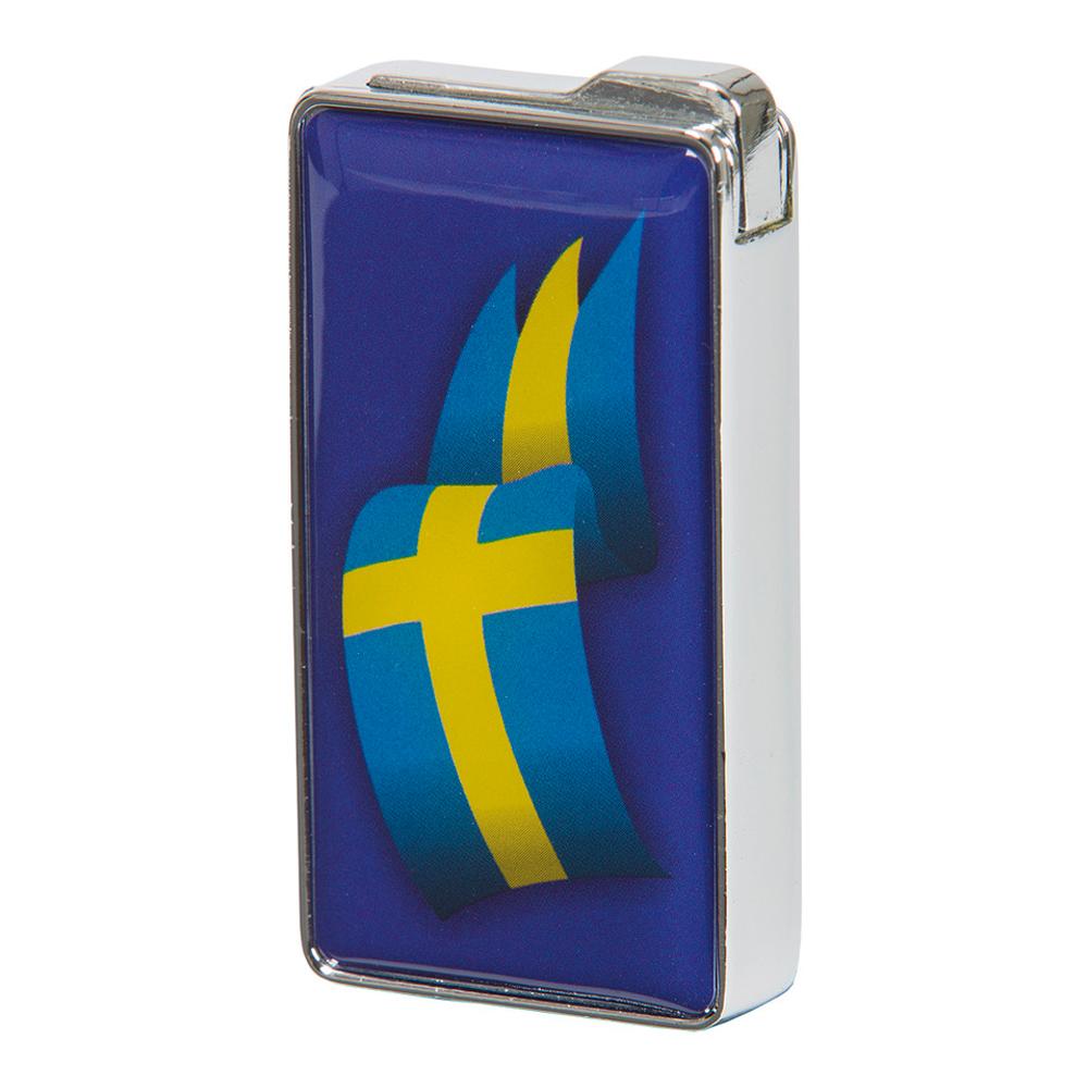 Tändare med Motiv - Svenska flaggan