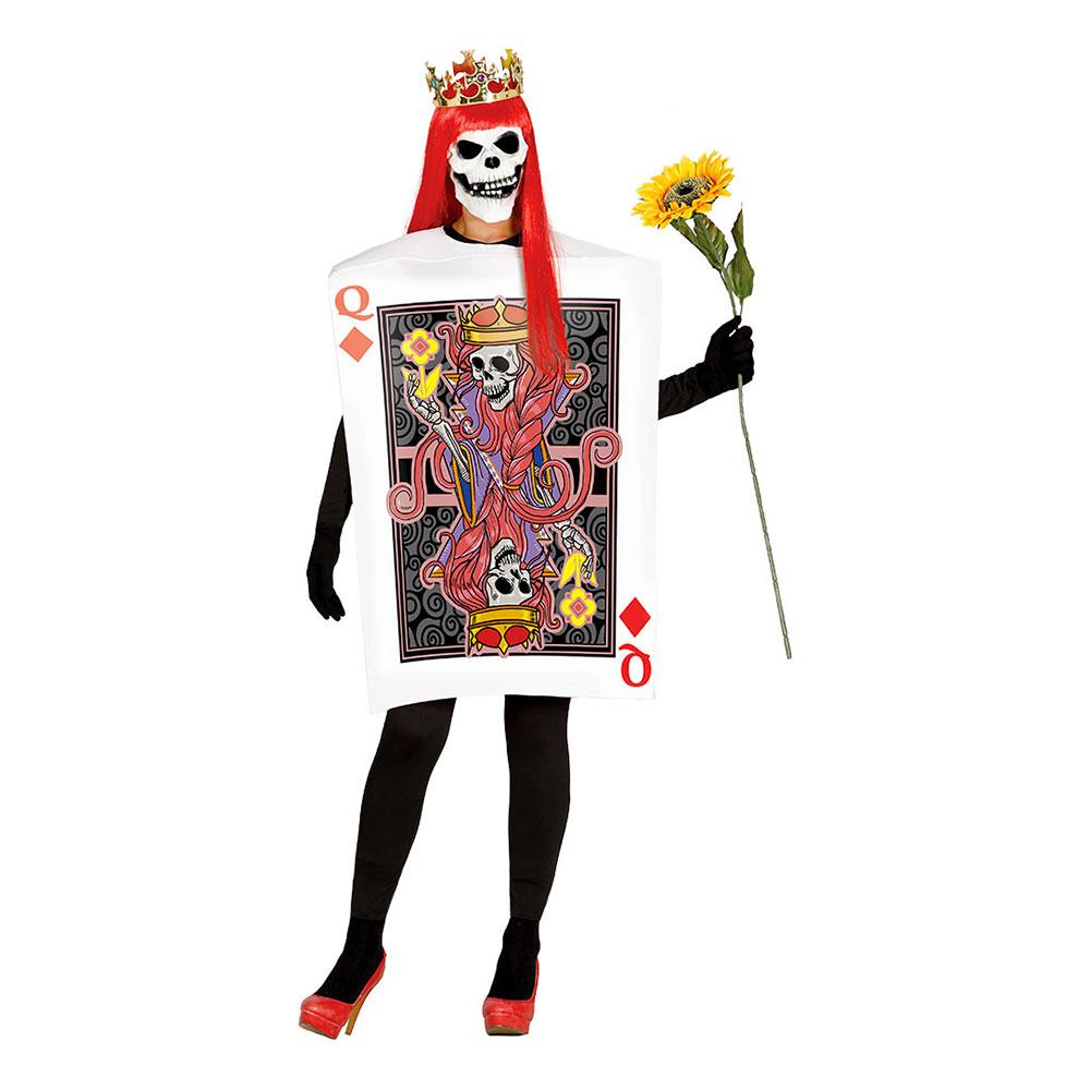 Tarotkort Drottning Maskeraddräkt - One size