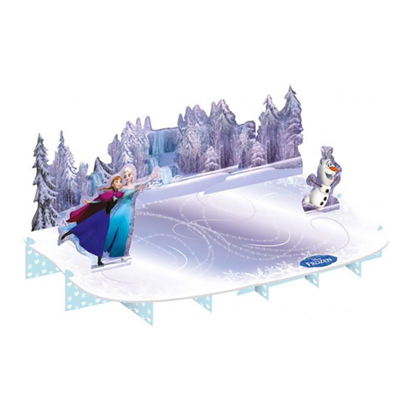 Tårtfat i Papp Frost/Frozen