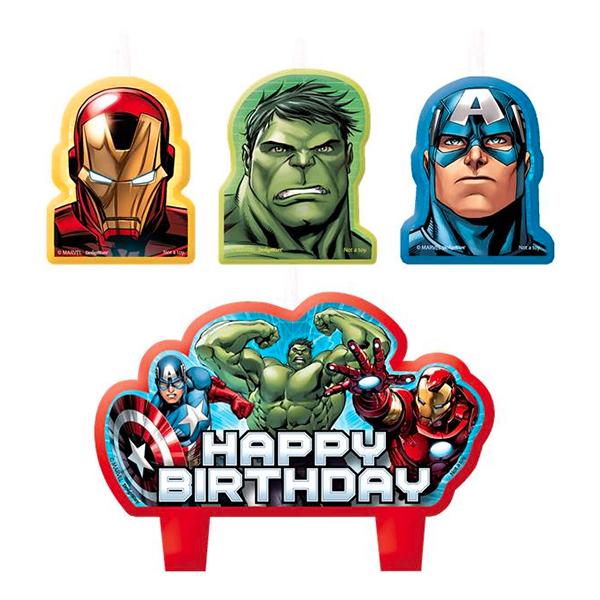 Tårtljus Avengers